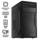 REBELPLAY® Desktop PC - Core i5 - 16GB RAM - 480GB SSD - WiFi_