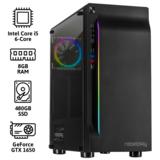 REBELPLAY® Gaming PC - Core i5 - GTX 1650 - 8GB RAM - 480GB SSD - RGB - WiFi_